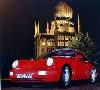 Porsche 911 Carrera 2 Coupé Red Poster