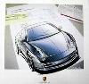 Design Study Porsche 911 Carrera Coupé - Poster