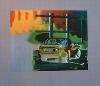 Porsche 924 Poster, 1985