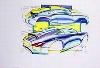 Porsche Design Studie Porsche 996, Poster 1998