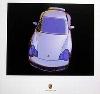Porsche Design Studie Porsche 996 Turbo, Poster 2000