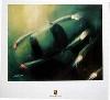 Porsche Design Study Porsche Boxster Hardtop, Poster 2000