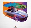 Porsche Design Study Porsche Boxster, Poster 2000