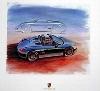 Porsche Design Studie Porsche Boxster Speedster, Poster 2000