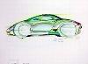 Porsche Design Studie Porsche 996, Poster