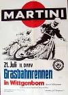 Original Rennplakat 1968 Martini Dmv