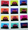 Poster 50 Years Of Porsche 1998, Porsche 928