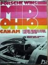 Porsche Original Rennplakat - 1973 Porsche Gewinnt Mid Ohio Can-am - Gut Erhalten