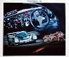 Porsche 956 Poster, 1987