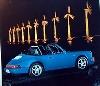 Porsche 911 Targa Poster, 1992