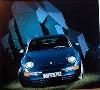 Porsche 968 Coupé Poster, 1992