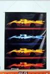 Porsche 908 Langheck 1968 - Poster In Poster 2002