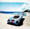 Unforgettable Gulf Porsche 917 Poster, 2003