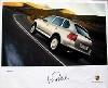Porsche Original Werbeposter - Porsche Cayenne W. Röhrl - Gut Erhalten