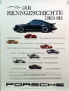 The Race-history Of The 911 - Porsche Original Poster