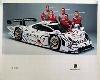 Porsche Original Werbeplakat - 911 Gt1 98 - Gut Erhalten