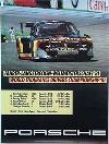 Porsche Original Rennplakat 1981 - Fahrer-langstrecken-weltmeisterschaft - Gut Erhalten