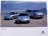 Porsche Original Werbeplakat - Cayenne, Boxster, 911, Carrera 4s - Gut Erhalten