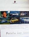 Porsche Original Rennplakat - Porsche Cup 2000 - Gut Erhalten