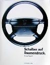Porsche Original Werbeposter - Schalten Auf Daumendruck - Gut Erhalten