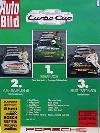 Porsche Original Werbeplakat 1987 - Turbocup - Gut Erhalten