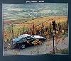 Porsche 924 Poster, 1979