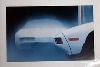 Porsche 928 Poster, 1980
