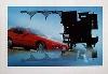 Porsche 924 Poster, 1981