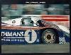 Othmans-porsche 956. 24 Stunden Le Mans 1982 - Poster