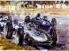 Porsche Typ 804 F1,grand Prix France 1962 - Poster