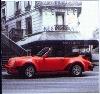 Porsche 911 Turbo Cabriolet, Poster 1989