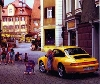 Porsche 911 Carrera Coupé Poster, 1995