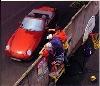 Porsche 968 Cabriolet Poster, 1995