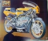Technical Art Poster-yamaha Tz500