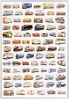 Vw Volkswagen Bulli Bus Transporter Poster
