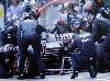 Mika Hakkinen Barcelona 1997 Foto