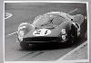 24 Stunden Von Le Mans 1966. Bandini Und Guichet Ferrari P3.