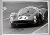 24 Stunden Von Le Mans 1966. Bandini And Guichet Ferrari P3.