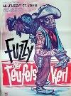 Original 50/60er Jahre Filmplakat Fuzzy