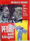 Original 50/60er Jahre Filmplakat Pedro