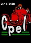 Opel-rennwagen Rennen Um 1910