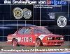 Original Rennplakat 1987 Bmw 635