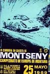 Original Renn 1969 Montseny Porsche-spyder