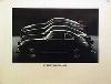 Porsche Original Werbeplakat - Porsche 356 964 944 928 - Gut Erhalten