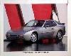 Porsche Original Werbeplakat 1981 - Porsche 944 S 2 - Gut Erhalten