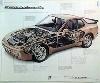 Porsche 944 Turbo Cutaway 1985