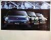 Porsche Original Werbeplakat - Porsche 968/911 Turbo/928 - Gut Erhalten