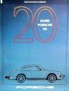 Porsche Original Werbeplakat 1983 - 20 Jahre Porsche 911 - Gut Erhalten