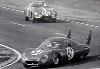 24 Hours Of Le Mans 1966. Laurent/ogier Cg Peugeot Sp66. Biscaldi Ferrari 275 Gtb.