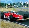 Jody Scheckter, Ferrari Nr. 1. 70 Jahre Agip Poster, 1996